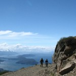 Hiking together in Patagonia