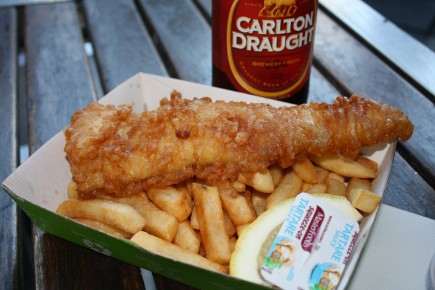 Fish and Chips St. Kilda e1267393658806 Fish 'n Chips | Australia