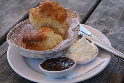 Homemade Scones with Jam and Cream Great Ocean Road e1267686548980 Scones and Jam | Australia