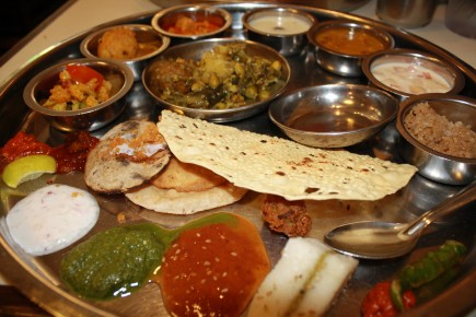 Thali e1268230947363 The Indian Thali | India