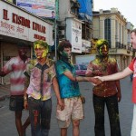 Happy Holi greetings from young Mumbaikers