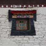 A window in Tibet