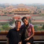 Sunset over Forbidden City