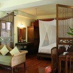 Our room at Baan Orapin B&B in Chiang Mai, Thailand