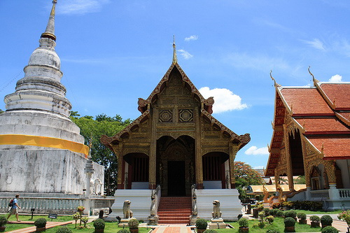 Buddhist Temples in Chiang Mai Thailand Thai Time