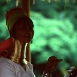 Kayan Lahwi Tribe Woman in Burma