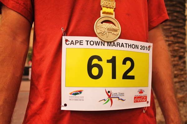 Cape Town Marathon Bib Number Cape Town, Inside & Out