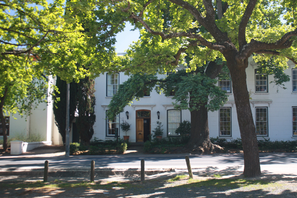Streets of Stellenbosch South Africa South Africa's Winning Winelands