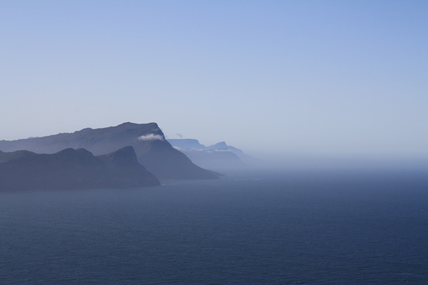 The road to the Cape of Good Hope, South Africa