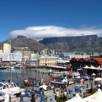 View of the iconic Table Mountain from V&A Waterfront