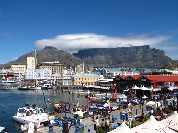 VA Waterfront in Cape Town South Africa Cape Town, Inside & Out