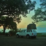 Settling into camp in remote Linyanti