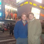 My Brother Tim and Me in Times Square