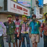 Mumbaikers Ring in Holi Festival with Color
