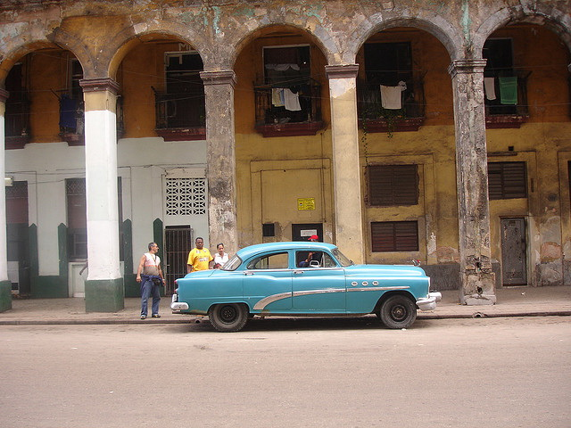 Crumbling beauty of Havana, Cuba