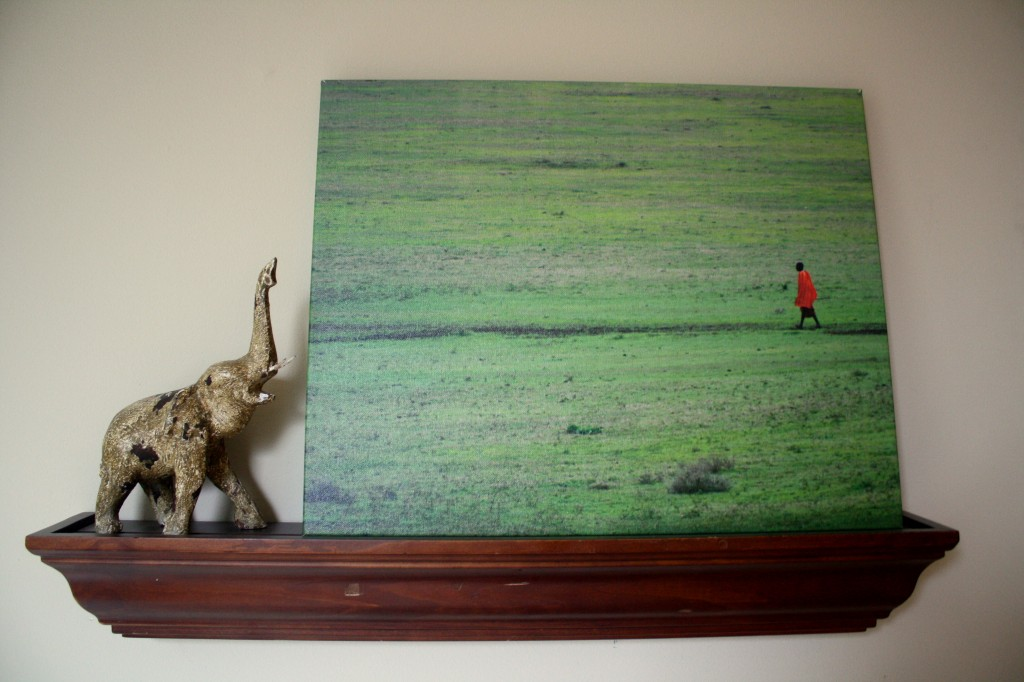 Easy Canvas Print of the Ngorongoro Crater