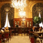 Bar and cafe at Alvear Palace Hotel in Recoleta