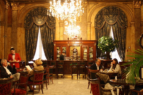Bar at Alvear Palace Hotel Notable Cafes of Buenos Aires