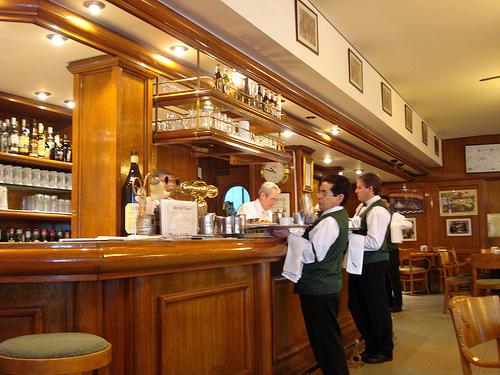 Cafe La Biela Notable Cafes of Buenos Aires