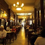 Argentina's most famous cafe - Cafe Tortoni -