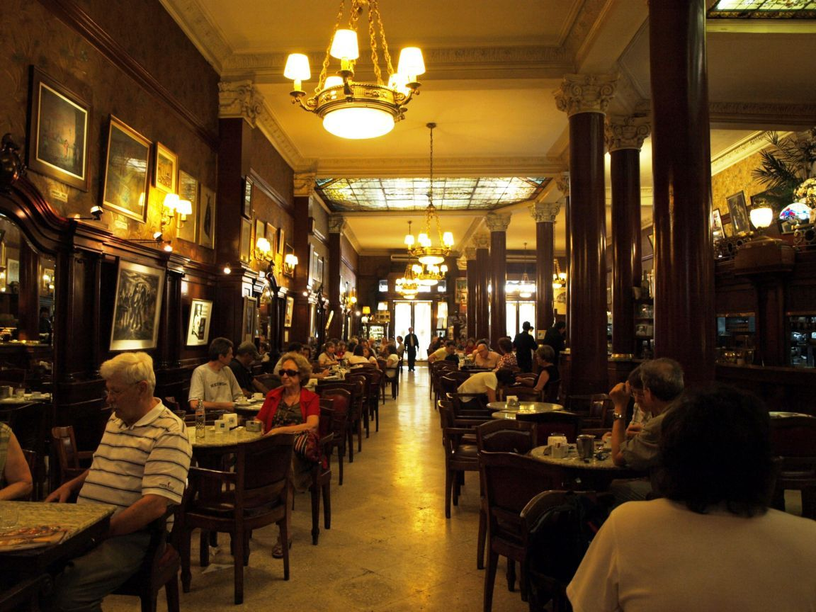 Cafe Tortoni Buenos Aires Notable Cafes of Buenos Aires