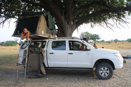 4x4 Self Drive Safari Moremi Game Reserve Botswana