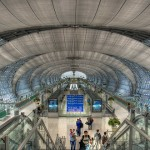 Bangkok's airport is a temple of contemporary architecture