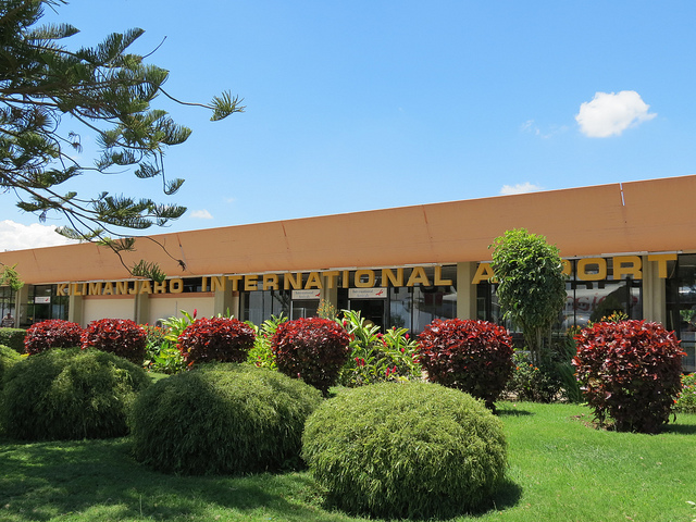 "Kilimanjaro International Airport (JRO) is dubbed ""the gateway to Africa's wildlife heritage"""