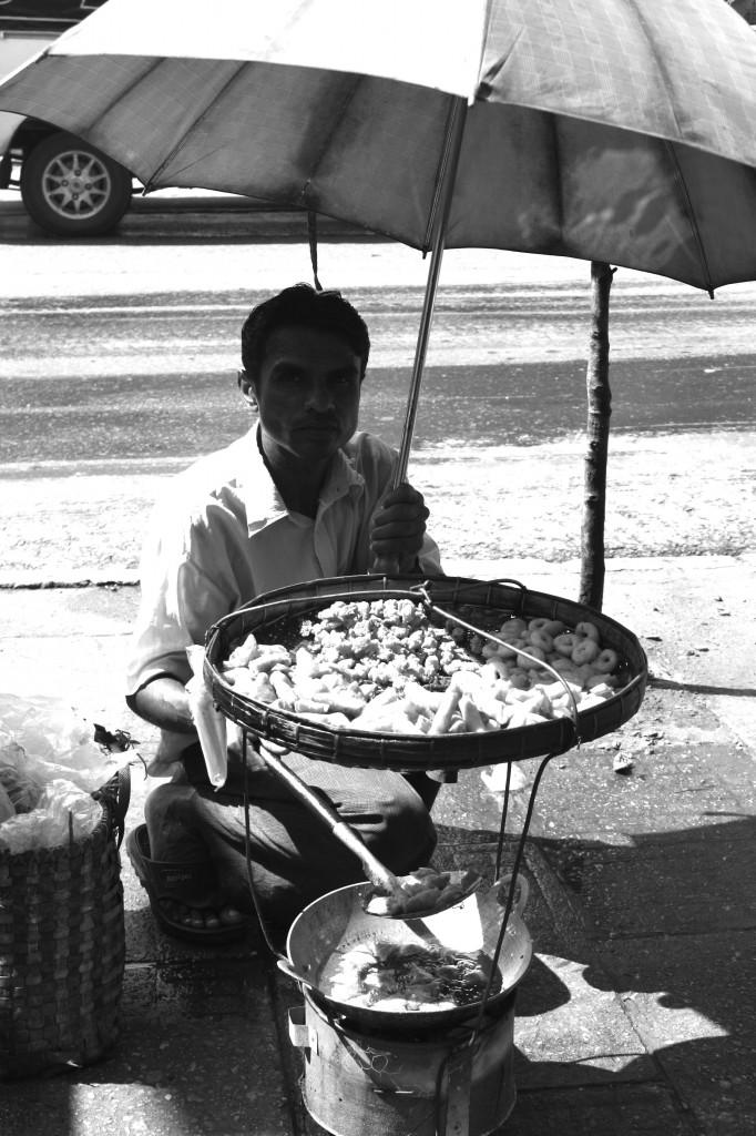 Street Vendor | Yangon, Burma