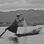 One-Legged Rowing Fisherman | Inle Lake