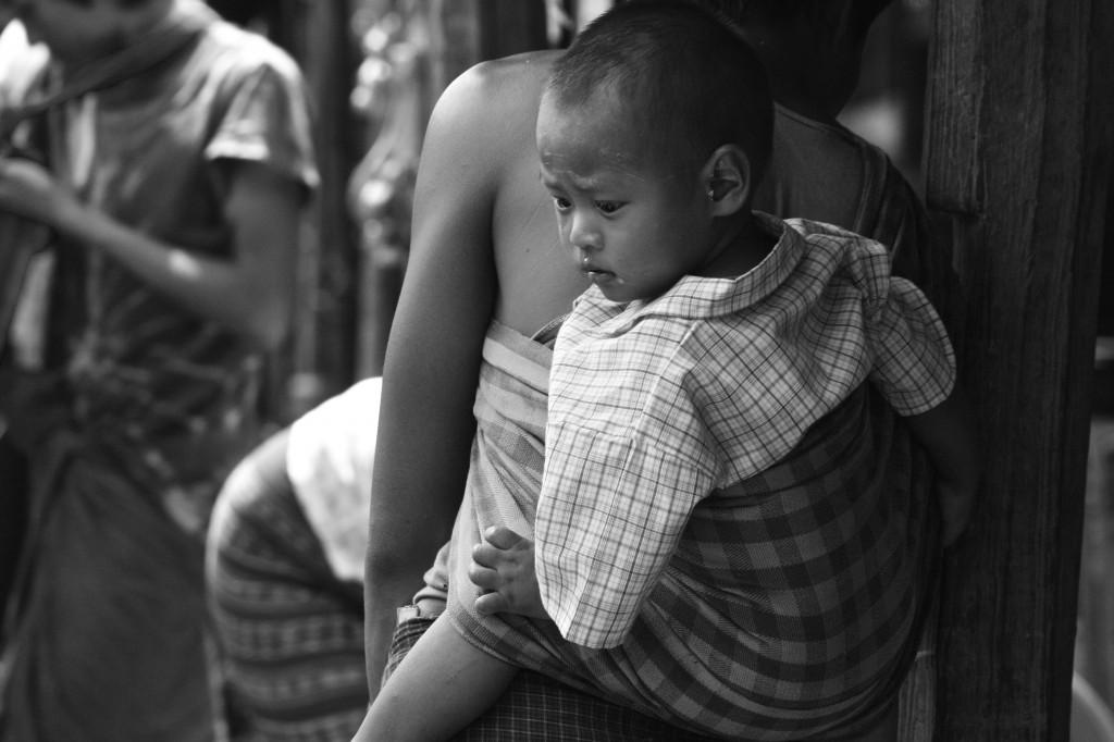 Baby on Board | Inle Lake, Burma